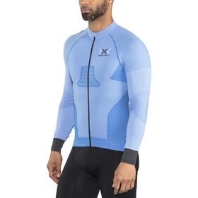 X-Bionic Race Evo Biking LS Shirt Men Marina Blue/Anthracite